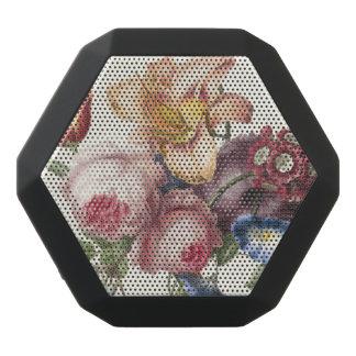 Vintager Blumenstrauß Schwarze Bluetooth Lautsprecher