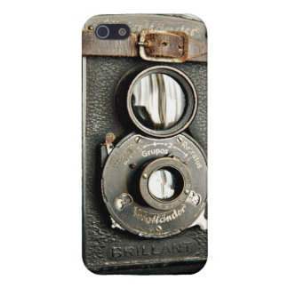 Vintager Brillant Kamera iPhone 5 Fall iPhone 5 Etui