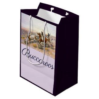 Vintager Buccaroos Charles Marion Russell Mittlere Geschenktüte