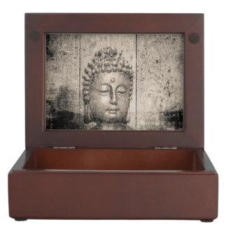 Vintager Buddha-Yoga-Glaube Erinnerungsdose