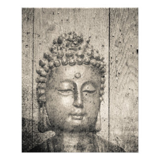 Vintager Buddha-Yoga-Glaube Flyer