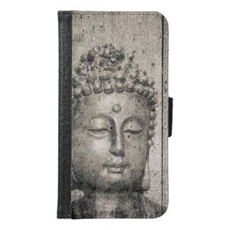 Vintager Buddha-Yoga-Glaube Samsung Galaxy S6 Geldbeutel Hülle