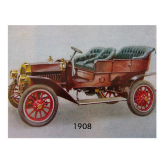 Vintager Buick Postkarte