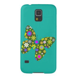 Vintager bunter Schmetterling Samsung Galaxy S5 Hülle