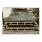 Vintager Chevy LKW Poster
