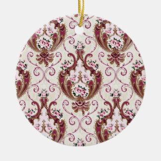 Vintager Damast Ornamente