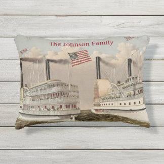 Vintager Dampf versendet amerikanische Kissen Für Draußen