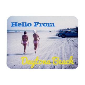 Vintager Daytona- Beachandenken-Magnet Magnet