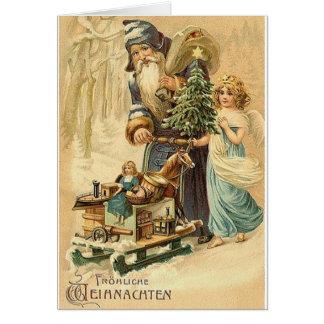 Vintager Deutscher Sankt und Karte