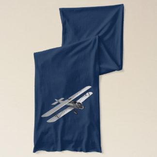Vintager Doppeldecker Schal