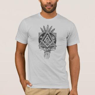 Vintager Druck-T - T-Shirt