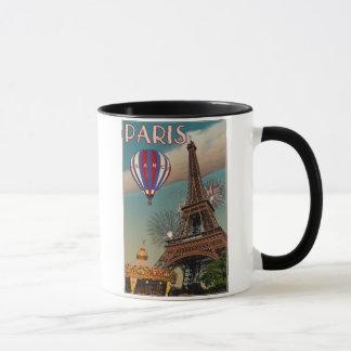 Vintager Eiffel-Turm Tasse