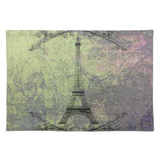 Vintager Eiffel-Turm Tischset