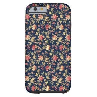 Vintager eleganter BlumenRose iPhone 6 Fall