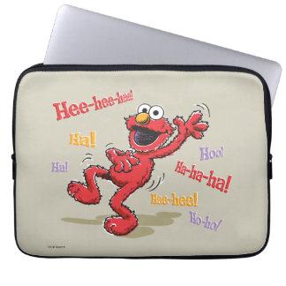 Vintager Elmo Hee-hee! Laptopschutzhülle