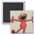 Vintager Elmo Quadratischer Magnet