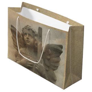 Vintager Engels-große Geschenk-Tasche Große Geschenktüte
