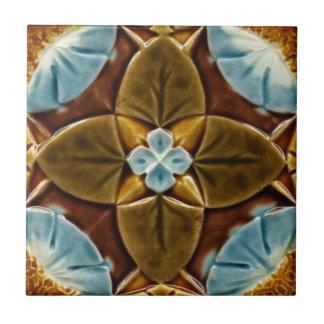 Vintager Entwurf der Majolika-gotischer Keramikfliese