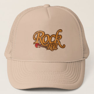 Vintager Entwurfs-Hut - Rock-and-Roll Truckerkappe