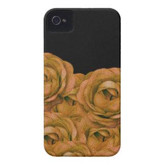 Vintager Erdton-RosenGrunge iPhone 4 Case-Mate Hülle