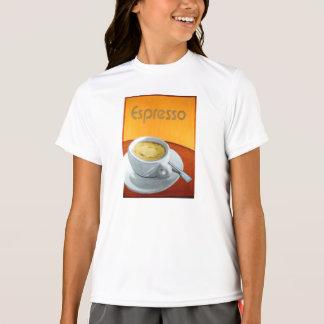 Vintager Espresso-Kaffee T-Shirt
