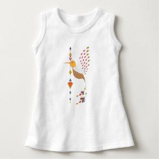 Vintager ethnischer Stammes- aztekischer Vogel Kleid