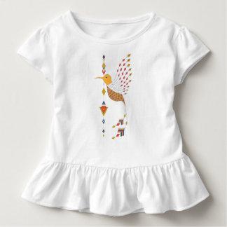 Vintager ethnischer Stammes- aztekischer Vogel Kleinkind T-shirt