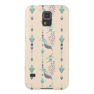 Vintager ethnischer Stammes- aztekischer Vogel Samsung Galaxy S5 Cover
