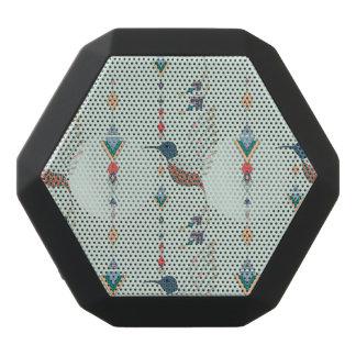 Vintager ethnischer Stammes- aztekischer Vogel Schwarze Bluetooth Lautsprecher