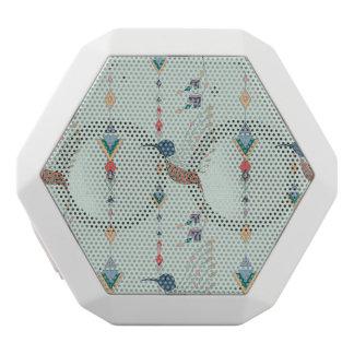 Vintager ethnischer Stammes- aztekischer Vogel Weiße Bluetooth Lautsprecher