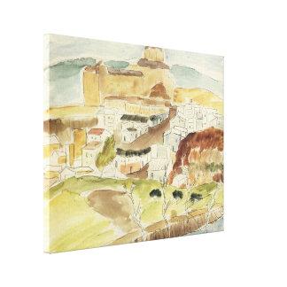 Vintager Expressionismus, Almeria durch Walter Leinwanddruck