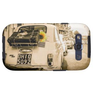Vintager Fiat 500 Cinquecento im Galaxy SIII Hüllen