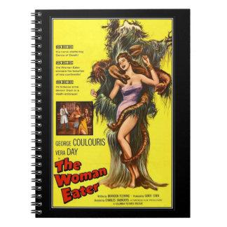 Vintager Film-Horror - Notizbücher