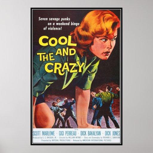 Vintager Film-Horror - Plakat