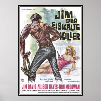 Vintager Film-Horror - Posterdrucke