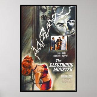Vintager Film-Horror - Plakate