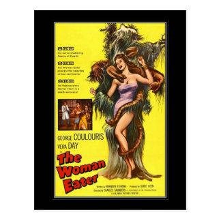 Vintager Film-Horror - Postkarten