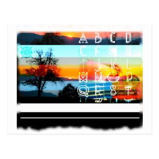 600 bunte buchstaben postkarten zazzle
