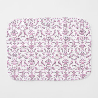 Vintager florentinischer Damast (Rosa) Spucktuch