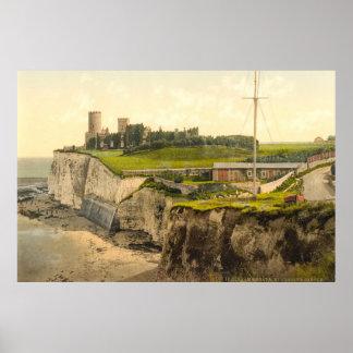 Vintager Foto-Druck von Kingsgate Castle (1900) Poster