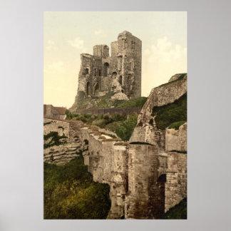 Vintager Foto-Druck von Scarborough Castle (1900) Poster