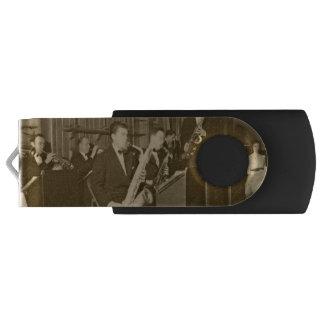 Vintager Foto-großes BandSax USB Stick