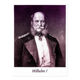 Vintager Foto König Wilhelm I von Deutschland Postkarte