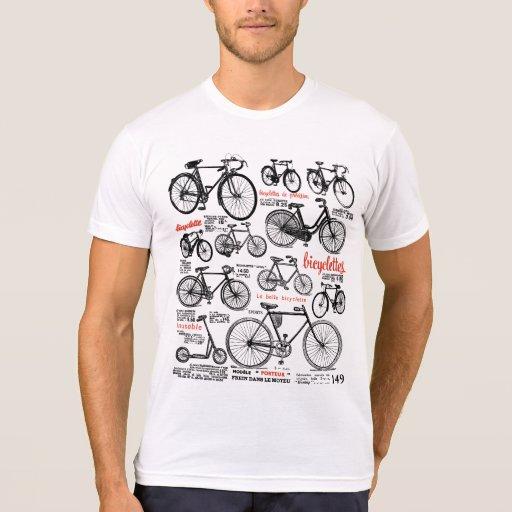 Vintager französischer Fahrrad-Katalog-Anzeigen-En Hemd