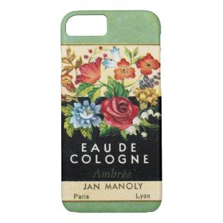 Vintager französischer Parfüm-Telefon-Kasten iPhone 8/7 Hülle