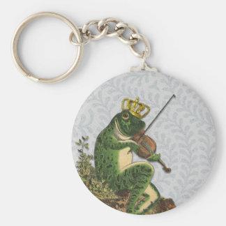 Vintager Frosch-Prinz Bezaubern Schlüsselanhänger