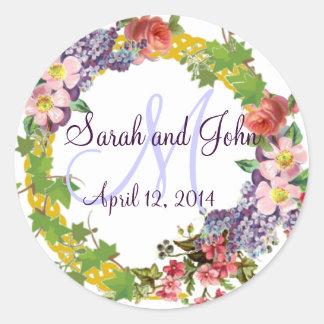Vintager FrühlingWreath - Wedding personalisiert