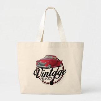 Vintager Garagen-LKW Jumbo Stoffbeutel
