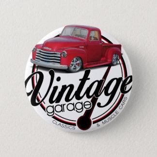 Vintager Garagen-LKW Runder Button 5,7 Cm