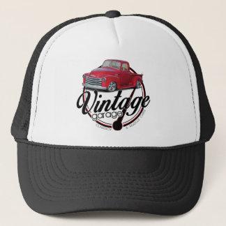 Vintager Garagen-LKW Truckerkappe
